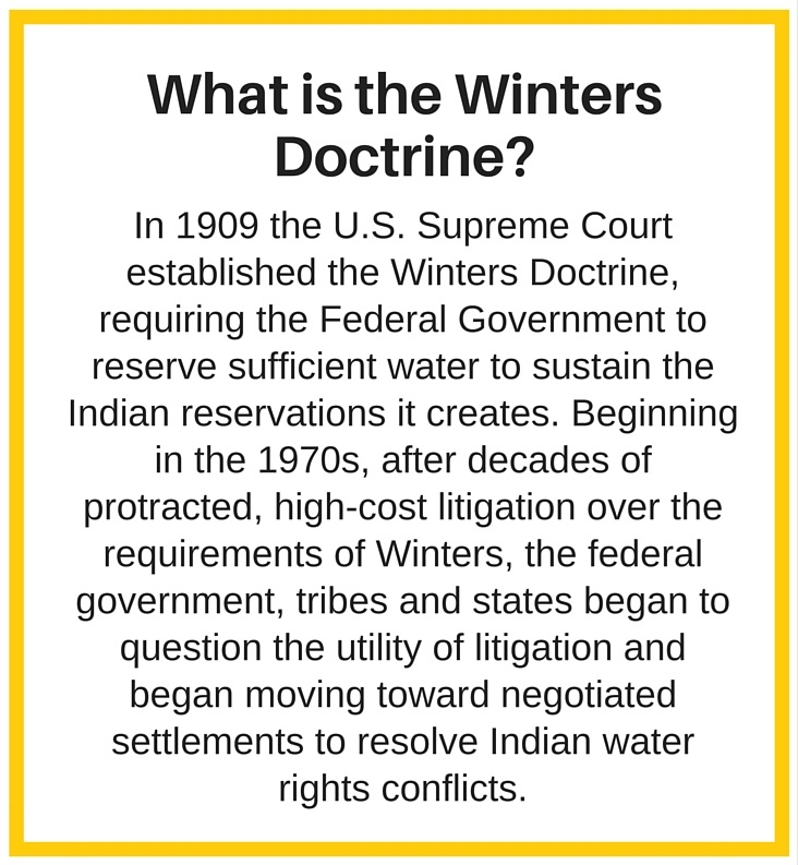 Winters Doctrine