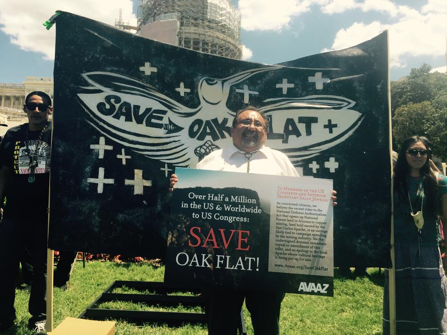 Oak Flats Rally in Washington, D.C.