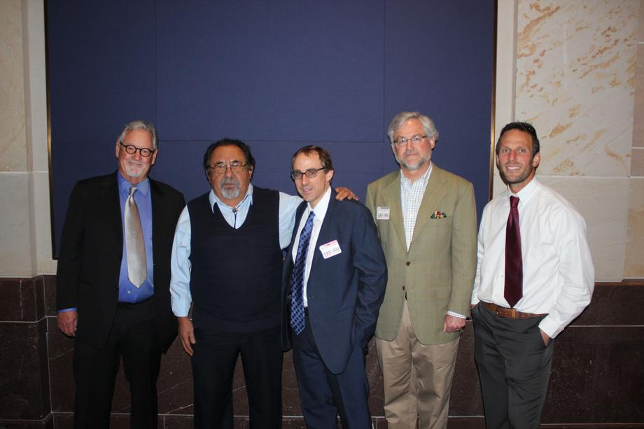 Ranking Member Raul Grijalva with panelists on grizzly bear and grey wolf hearing