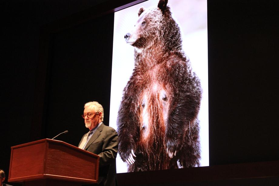 Thomas Mangelsen discusses the positive impact the Endangered Species Act has on grizzly bears and the reasons to continue their protection