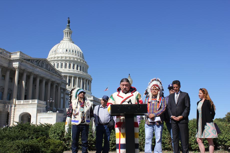 Chief Stan C. Grier explains how the grizzly bear represents a struggle to defend the sovereignty of Native American Tribes.