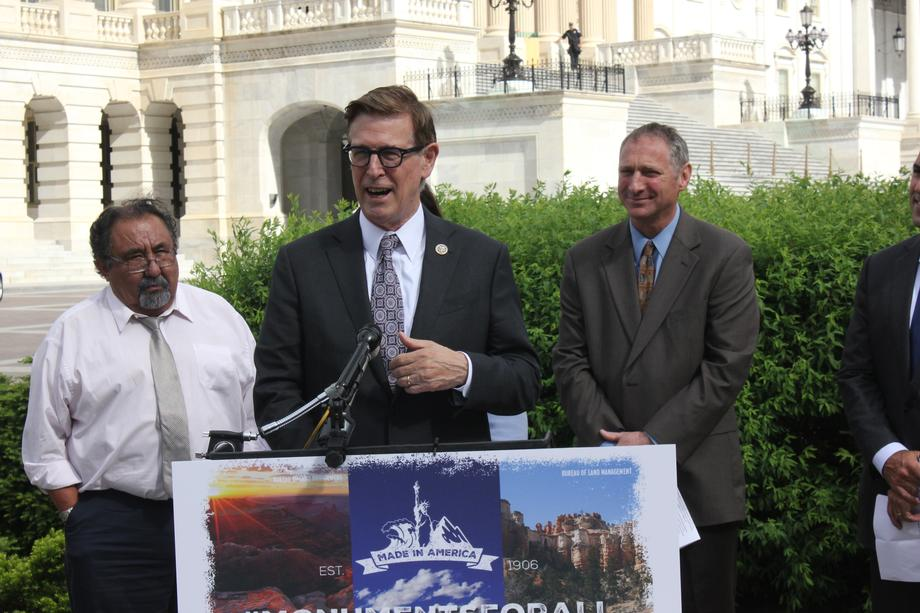 Press Conference on Protecting America's National Monuments