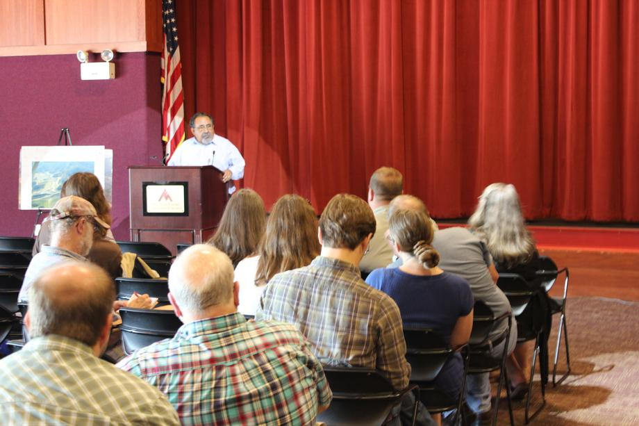 On June 10, Grijalva held a forum at the Goodloe Center in Big Stone Gap, Va., to hear from Appalachian residents directly impacted by mountaintop removal mining.