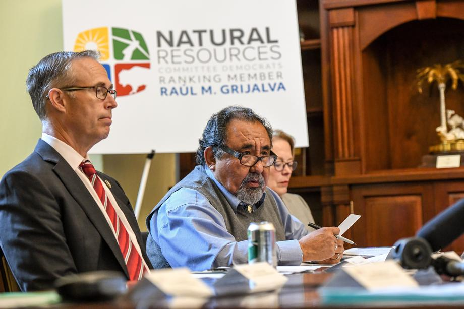 Ranking Member Grijalva vows to protect the Arctic National Wildlife Refuge from oil drilling.