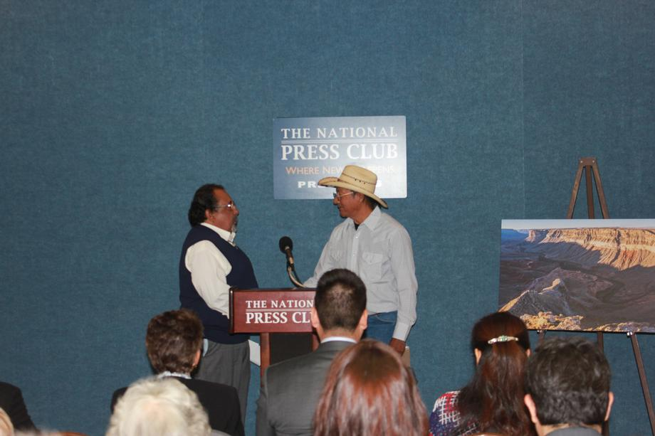 Grijalva and Tribal Leaders Hold Press Conference to Call for Grand Canyon Protections